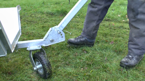 Arb Trailer & Wood Cart - Adjustable Rake Drawbar